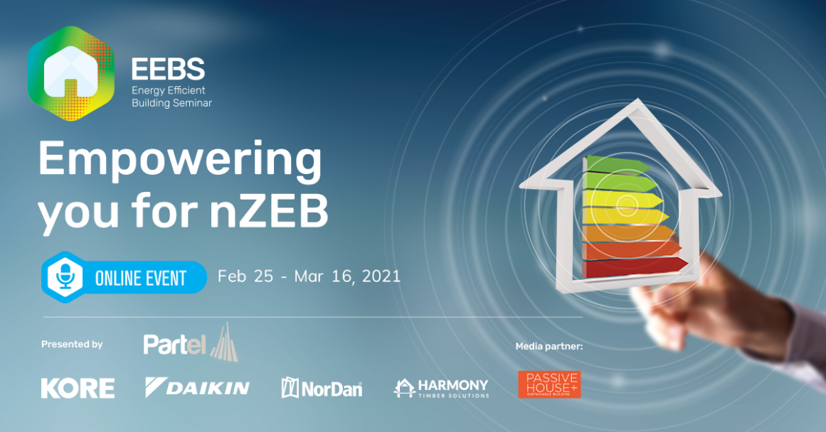 Energy Efficient Building Seminar: Empowering you for nZEB - Online CPD Seminar Series