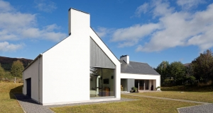Simple and stunning Highlands passive house merges old and new