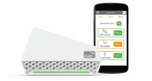 NuWave Sensors launches CO2 monitor for schools