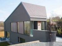 Steeply sustainable - Low carbon passive design wonder on impossible Cork site